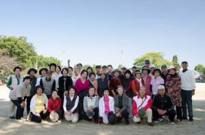 グラウンドゴルフ大会2013